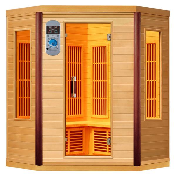 Sauna infrarouge prince 3 4 personnes - Sauna infrarouge utilisation ...